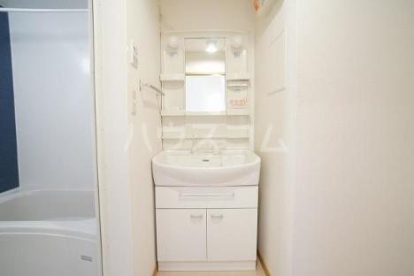 デスパシオ B 02010号室の洗面所