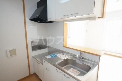 デスパシオ B 02010号室のキッチン