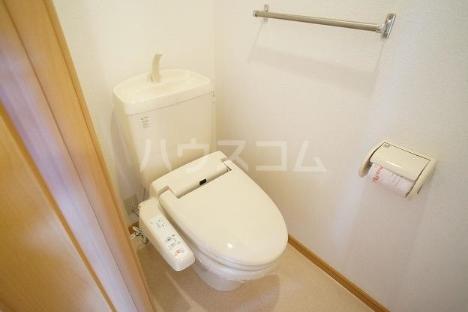 デスパシオ B 02010号室のトイレ