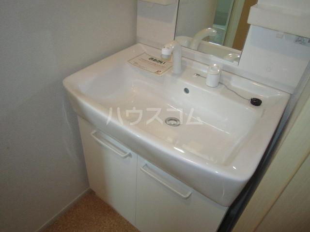 エンブレム ラビット 01020号室の洗面所
