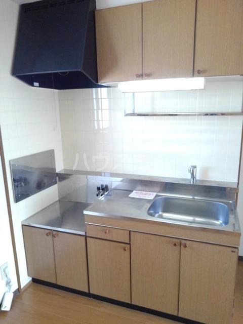 ロマネスクローズ A 02010号室のキッチン