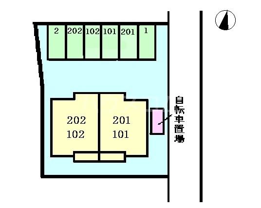 メゾン・ファミーユ 02020号室のその他