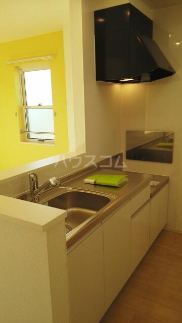 ラフレシール I&K 02010号室のキッチン