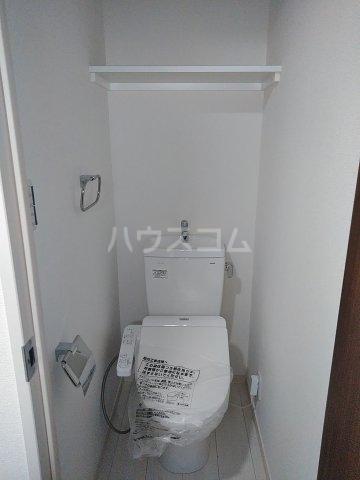 グランクオール梅島二丁目 103号室のトイレ