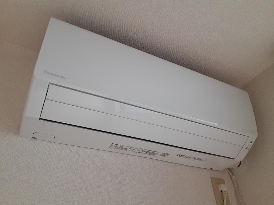 ブランエールD 101号室のベッドルーム