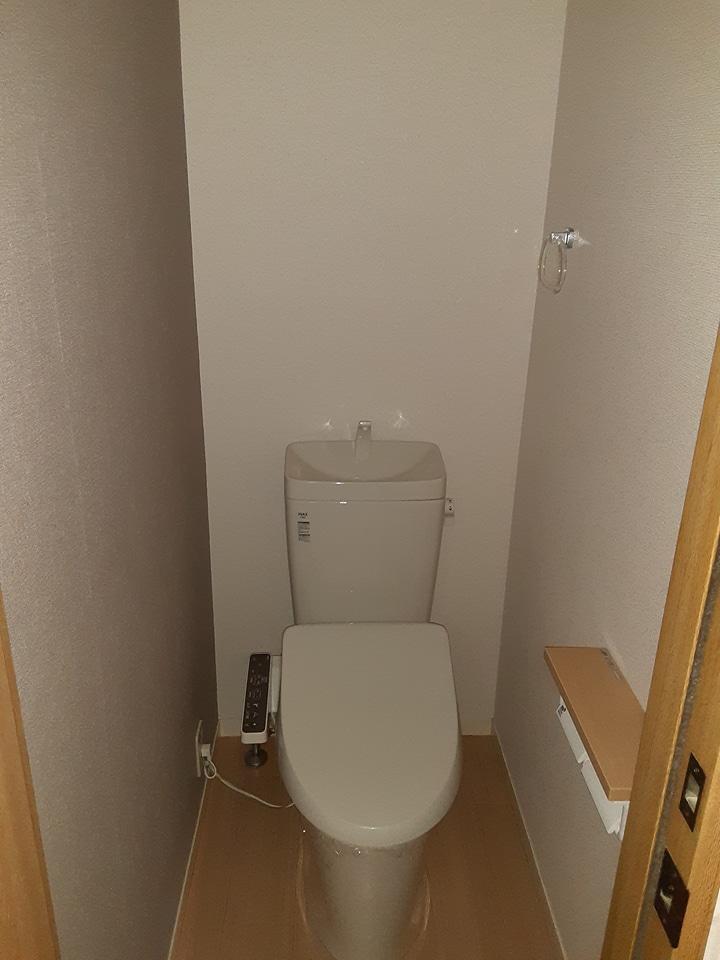 ブランエールD 101号室の洗面所
