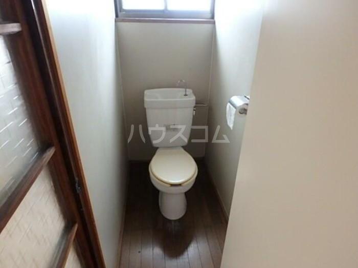 佐々木アパート 201号室のトイレ