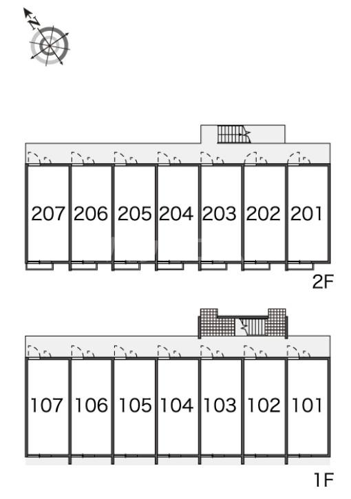 レオパレスイーグル大里 207号室のその他