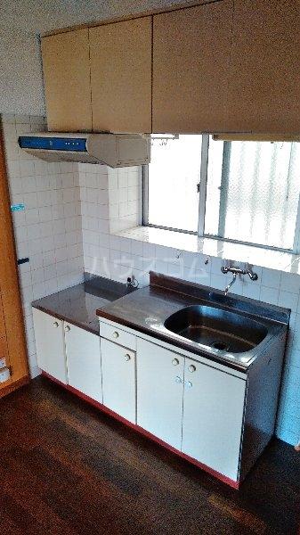 高里アパート 201号室のキッチン