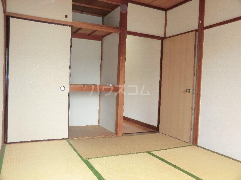 水心荘 2-E号室の収納