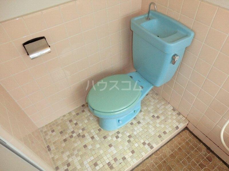 水心荘 2-E号室のトイレ