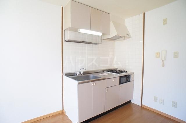 コンフォート2 01010号室のキッチン