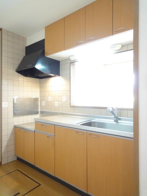 オークレイコートⅠ 01040号室のキッチン