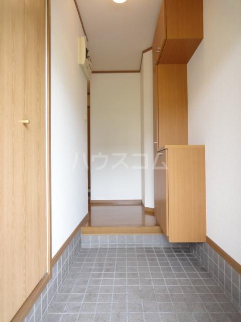 オークレイコートⅠ 01040号室の玄関