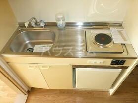 ウイングコート 105号室のキッチン