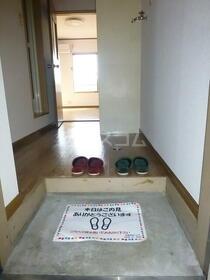 ウイングコート 105号室の玄関