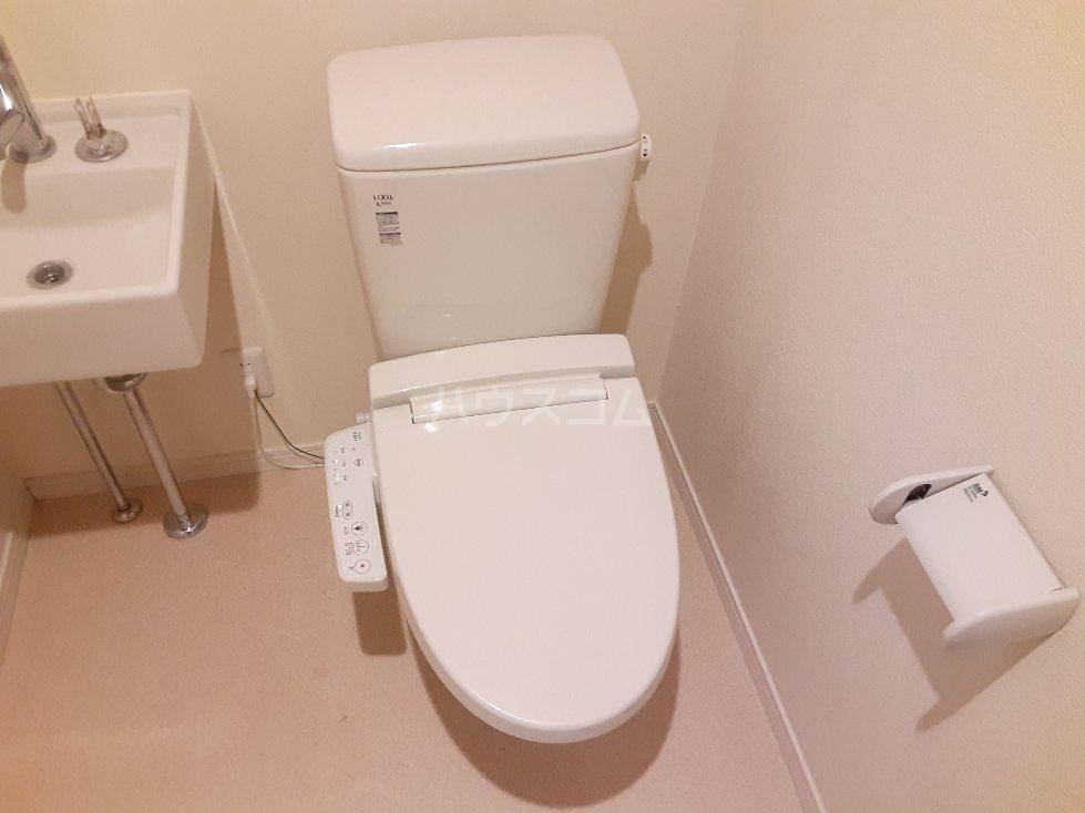 フローライト日吉 202号室のトイレ