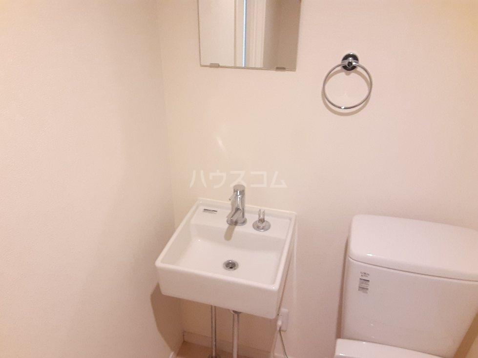 フローライト日吉 202号室の洗面所