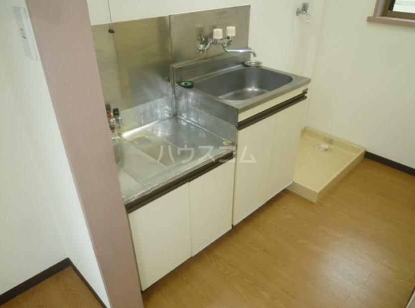 メントハウス富士見 205号室のキッチン