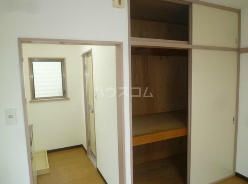 メントハウス富士見 205号室の収納