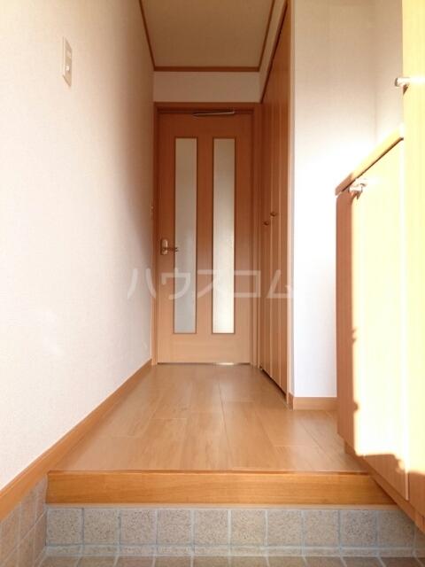プラシドB 01020号室の玄関