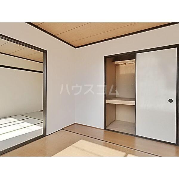 フォーブル蟹江 201号室の収納