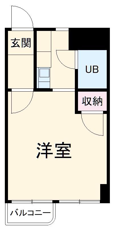 エスタシオン犬山・504号室の間取り