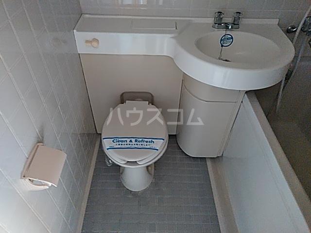 エスタシオン犬山 504号室のトイレ