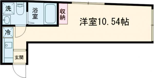 trias216・303号室の間取り