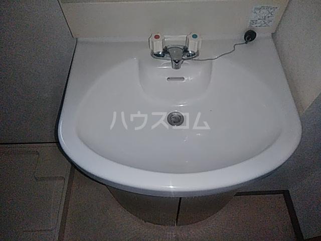 パラスアテネ 201号室の洗面所