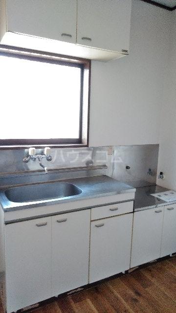 ウエストヒルズ宮代 205号室のキッチン