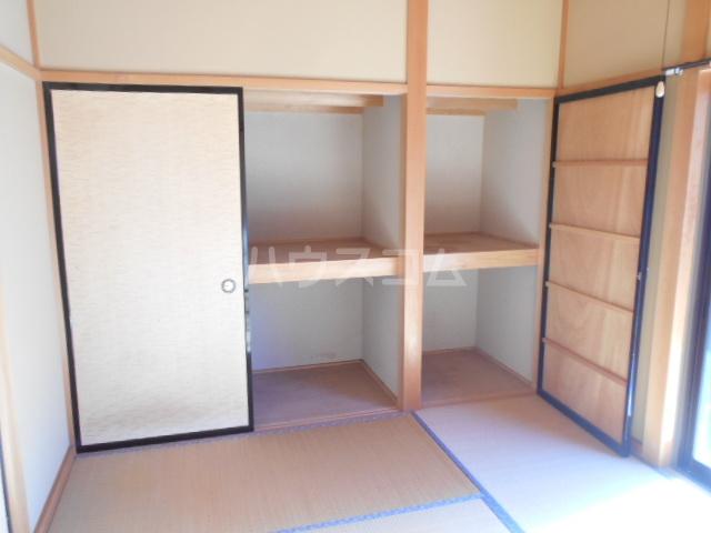 グリーンハウス田部井5号棟の収納