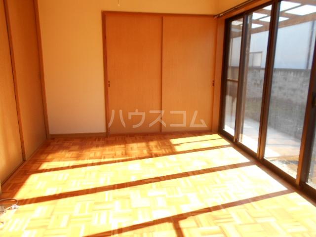 グリーンハウス田部井5号棟のリビング