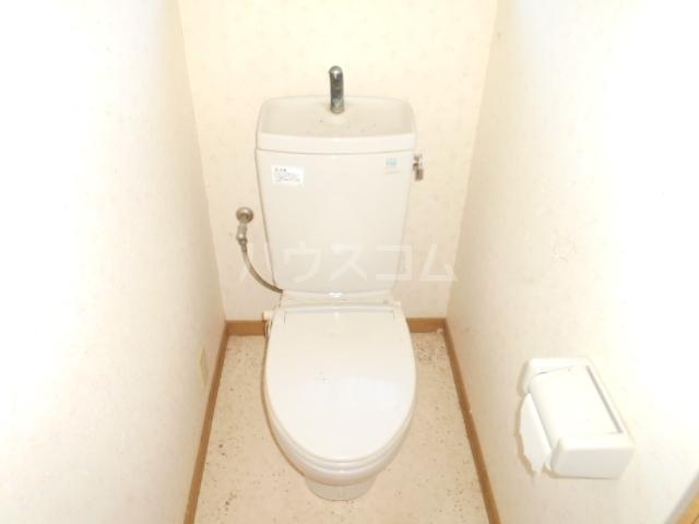 グリーンハウス田部井5号棟のトイレ