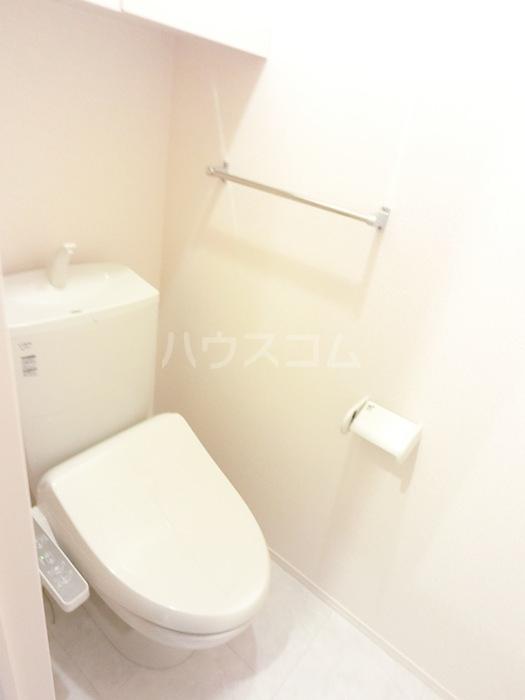 アクロスN 105号室のトイレ