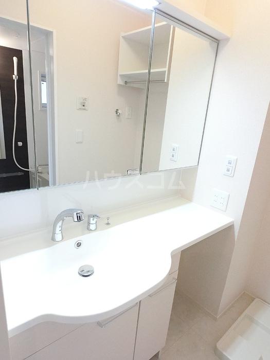 アクロスN 105号室の洗面所