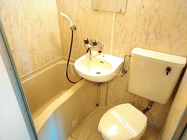 マキシス本厚木 307号室の風呂