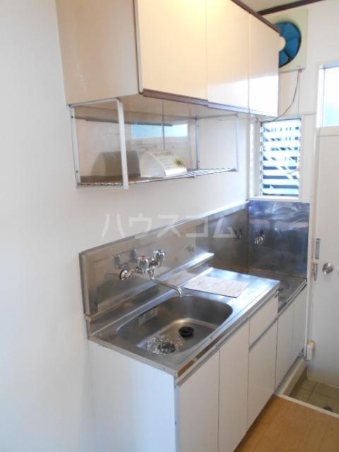 メゾンハタノⅠ 105号室のキッチン