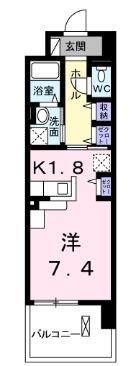 ツリ-ベル・03030号室の間取り
