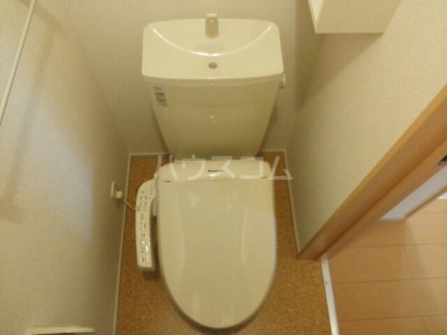 ルガ-トリミテッド1037Ⅰ 01010号室のトイレ