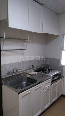ビューラーオークボB棟 102号室のキッチン