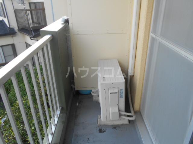 第二吉田コーポ 206号室のバルコニー