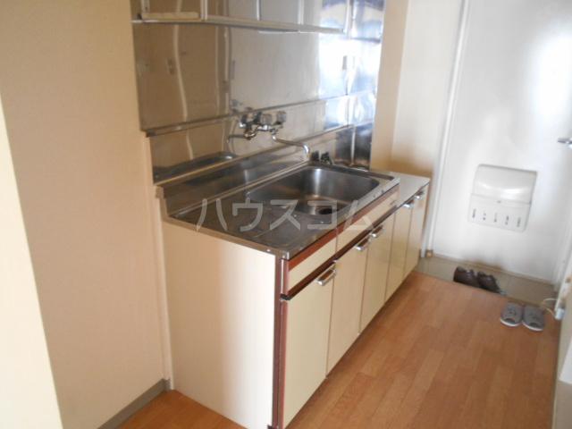 第二吉田コーポ 206号室のキッチン