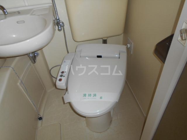 第二吉田コーポ 206号室のトイレ