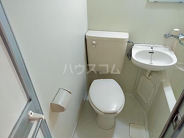 ダイアパレスアクティブシティ本厚木 208号室のトイレ