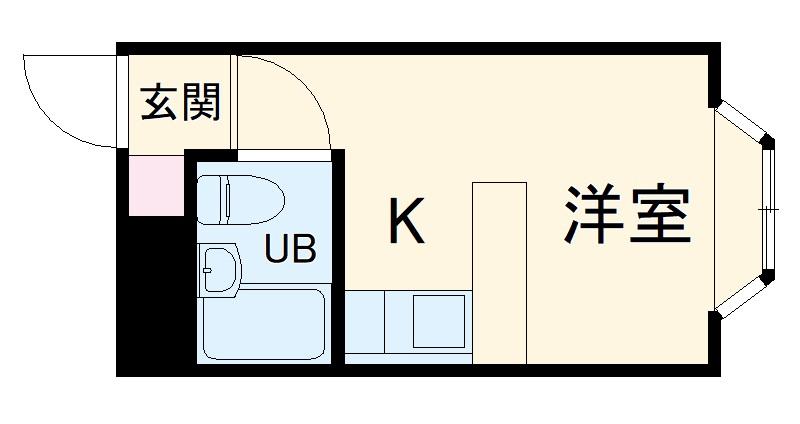 ベルピア・茅ヶ崎第7 203号室の間取り