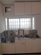 アイリス 201号室のキッチン