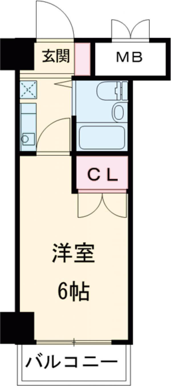 ガラ・シティ高井戸・403号室の間取り