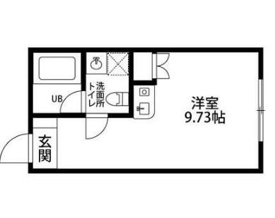 ザ バロン西新宿3116・301号室の間取り