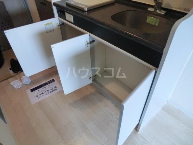 メゾン・ド・オルティー 0307号室のキッチン